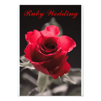 Ruby Wedding Card 13 Cm X 18 Cm Invitation Card