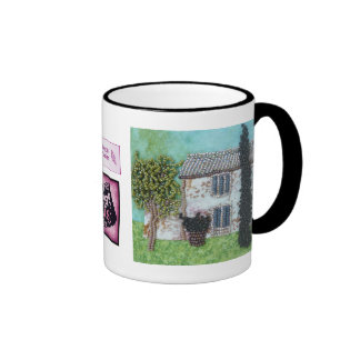 Ruby Wings Designs French Interlude Coffee Mugs