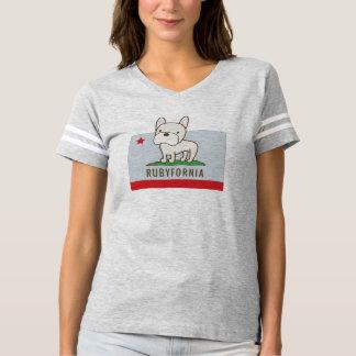 Rubyfornia Footballer T T-Shirt