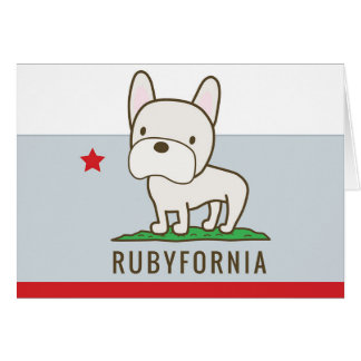 Rubyfornia Greeting Cards