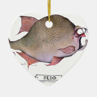 Rudd fish, tony fernandes christmas ornament
