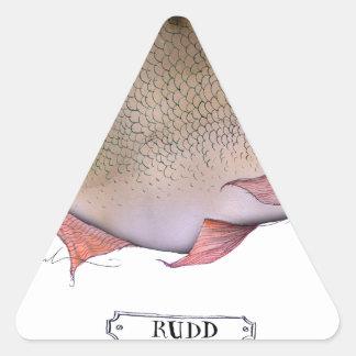 Rudd fish, tony fernandes sticker