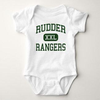 Rudder - Rangers - High School - Bryan Texas Infant Creeper
