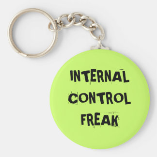 Rude Auditor Accountant Name - Control Freak Key Ring