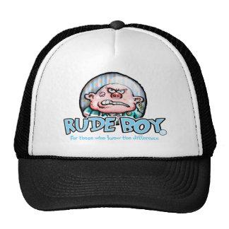 Rude Boy basket baseball hat.