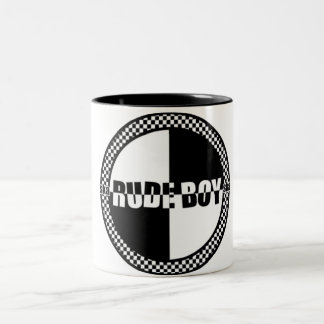 Rude Boy Checker Mug