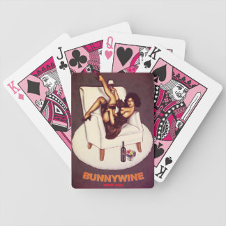 Rude Boy USA Series - BunnyWine Playing Cards