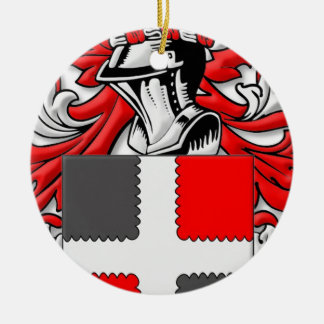 Rude Coat of Arms Christmas Tree Ornament