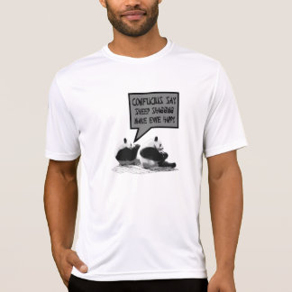 Rude Confucius say T Shirt