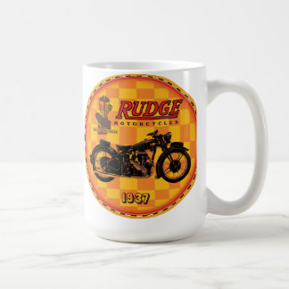 Rudge motorcycles coffee mug