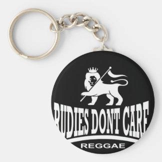 Rudies Don't Care - SKA - Rudeboys - Mods Basic Round Button Key Ring