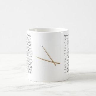 rudiments-sticks coffee mug