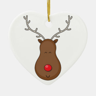 Rudolf Christmas Ornament