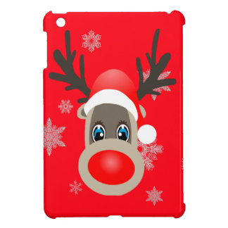 Rudolf - Christmas reindeer Case For The iPad Mini