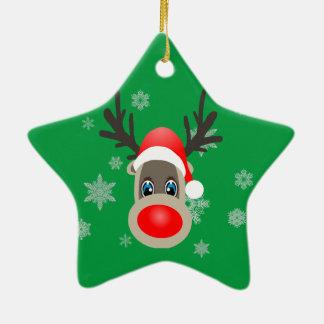 Rudolf - Christmas reindeer Christmas Ornament