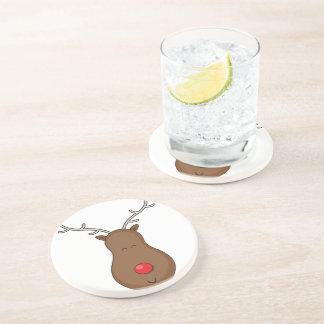 Rudolf Drink Coaster