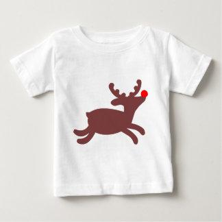 Rudolf Reindeer Baby T-Shirt