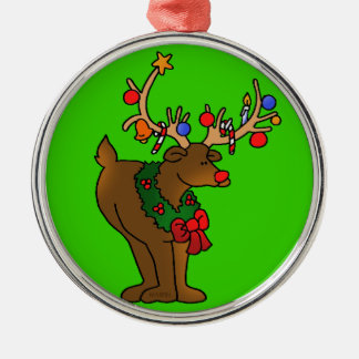 Rudolf The Red Nosed Reindeer Tree Ornament