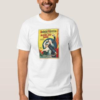 Rudolf Valentino Blood Sand Poster Tshirts