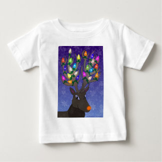 Rudolf with Lights Shirt