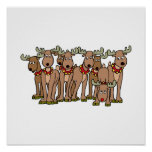 rudolph and freinds print