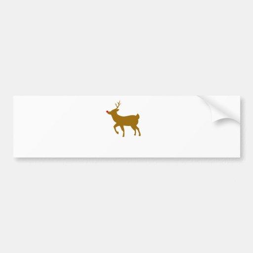 Rudolph Bumper Stickers