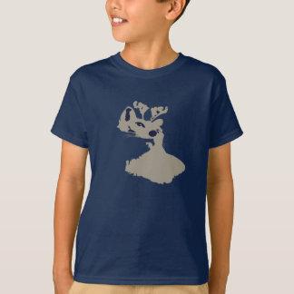 Rudolph Christmas Kitty T-Shirt