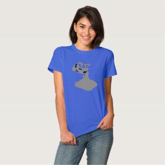 Rudolph Christmas Kitty Tshirt