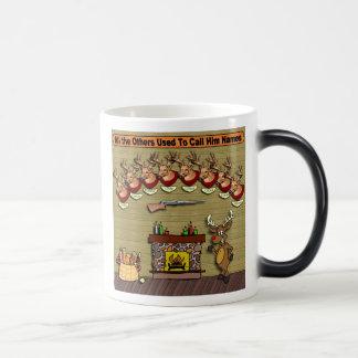 Rudolph Magic Mug