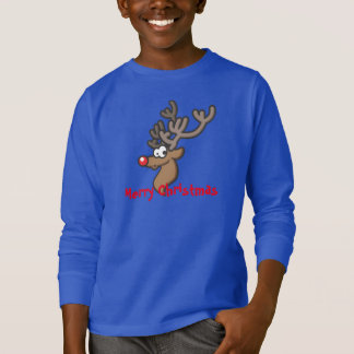 Rudolph Merry Christmas Kids Shirt