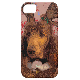 RUDOLPH POODLE iPhone 5/5S CASES