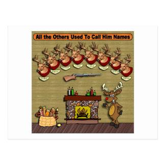 Rudolph Postcard