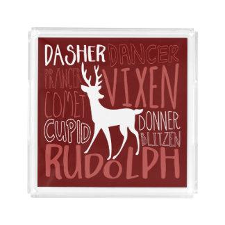 Rudolph Reindeer Silhouette