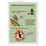 Rudolph Rhodamine Kit Cards