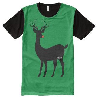 Rudolph Silouhette All-Over Print T-Shirt