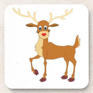 Rudolph style reindeer coaster