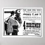Rudolph Valentino 1921 vintage movie ad poster