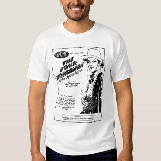 Rudolph Valentino 1927 vintage movie ad T-shirt