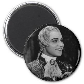 Rudolph Valentino 6 Cm Round Magnet