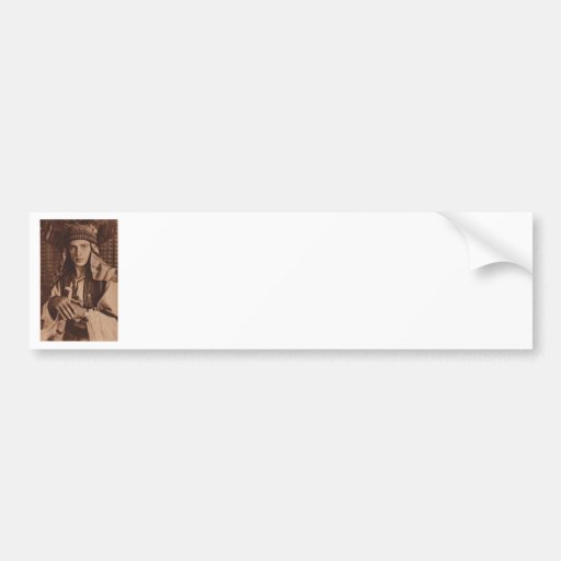 Rudolph Valentino as The Sheik Bumper Sticker