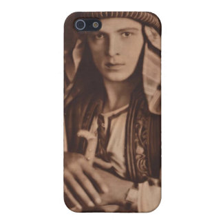 Rudolph Valentino as The Sheik iPhone 5/5S Cover