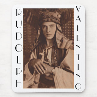 Rudolph Valentino as The Sheik Mouse Pad