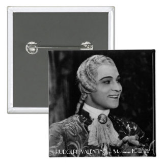 Rudolph Valentino Buttons