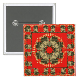 Rudolph Valentino Design 2 Pins