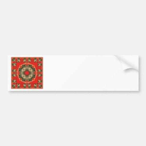 Rudolph Valentino Design 2 Bumper Stickers