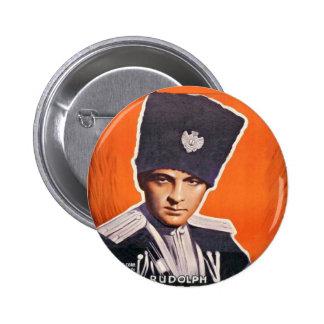 Rudolph Valentino Poster 6 Cm Round Badge