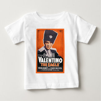 Rudolph Valentino Poster Baby T-Shirt