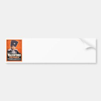 Rudolph Valentino Poster Bumper Sticker
