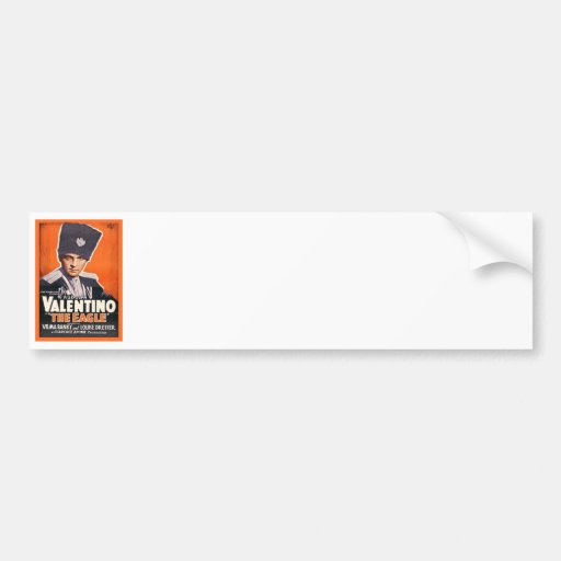 Rudolph Valentino Poster Bumper Stickers
