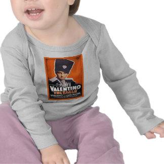 Rudolph Valentino Poster Tee Shirts